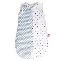 Spalna vreča MODRA VZOREC, 6-18 m Motherhood