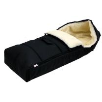 CRNA zimska vreća 105 cm - 100% ovčja vuna