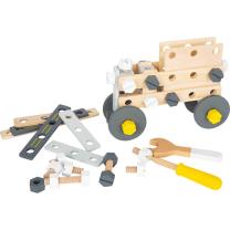 Leseni konstrukcijski set AVTO (3 leta+), Small Foot