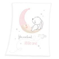 bela odeja medvedek
