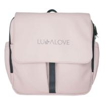 Roza previjalna torba - nahrbtnik Lullalove