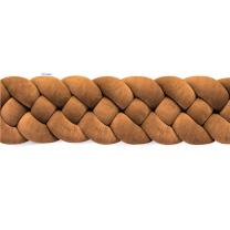 KARAMEL SMEĐA 4-dijelna pletenica za dječji krevetić  (190cm)