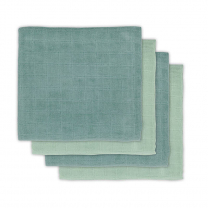 Zelene tetra plenice bambus ASH GREEN (70x70 cm) - 4  kosi, Jollein®