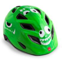 Zelena otroška kolesarska čelada POŠASTI 46-53 MET Elfo