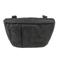 Črna stranska previjalna torba za voziček