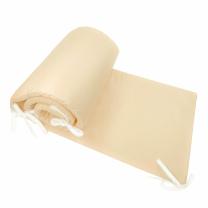 Kompaktna bež obroba za posteljico, 180x30 cm Largo