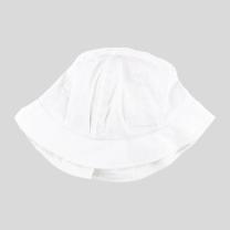 Bel otroški klobuček z UV zaščito (UPF 50+) 1-2 leti – White Skye, Nordic Label