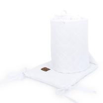 BELA obroba za posteljico, MUSLIN (180x30 cm), MAMO-TATO