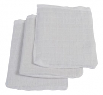 Bele krpice za umivanje (3 kosi) Jollein®