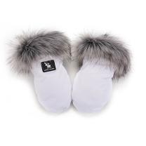 Bele muf rokavice Cottonmoose