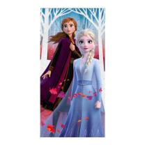 Kopalna brisača LEDENO KRALJESTVO 2 Ana in Elsa 70x140 cm, ©DISNEY