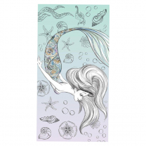 Mint kopalna brisača Mala morska deklica ARIELA 70x140 cm ©DISNEY