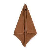 KARAMEL RJAVA brisača s kapuco 75x75 cm, Jollein®