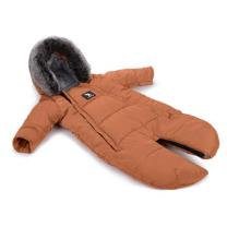 Karamel rjav pajac - zimska vreča Moose (0-6 m), Cottonmoose