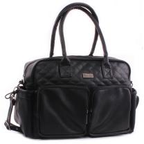 Črna previjalna torba Kidzroom