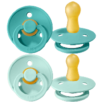 Duda BIBS - Mint&Turquoise, 6-18M (2 kosa)