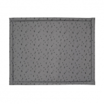 Siva igralna podloga s pikami (75x95 cm), Jollein