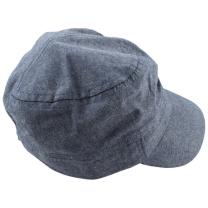Bel klobuček - kapa s šiltom, UV zaščita