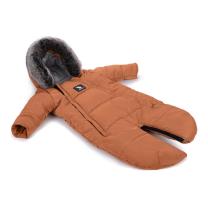 Karamel rjav pajac - zimska vreča Moose YUKON (0-6 m), Cottonmoose