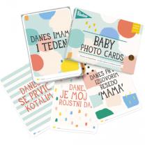 MILESTONE™ kartice za fotografiranje dojenčka SLO - Cotton Candy (Limited Ed.)