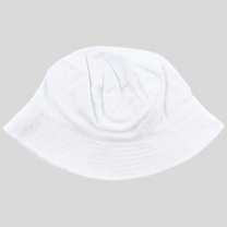Bel otroški klobuček z UV zaščito (UPF 50+) 0-1 leto – White Skye, Nordic Label