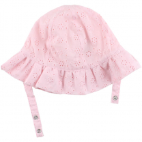 Svetlo roza klobuček za dojenčka 0-1 leto – Rose, Nordic Label