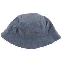 Jeans moder klobuček z UV zaščito (0-1 leto)