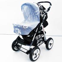 KOMARNIK za otroški voziček z elastiko