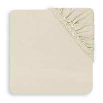 Kremno bela jogi rjuha 80/90x40 cm IVORY, bombažni jersey, Jollein®