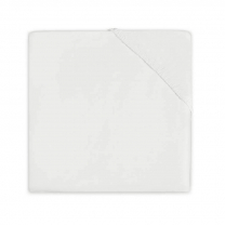 Kremno bela jogi rjuha 80/90x40 cm OFF WHITE, bombažni jersey, Jollein®