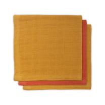 Mustard rumene - oranžne krpice za umivanje iz bambusa (3 kosi) Jollein®