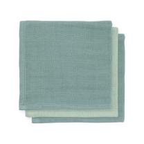 Mint - zelene krpice za umivanje iz bambusa ASH GREEN (3 kosi) Jollein®