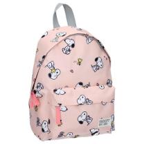 Marelično roza nahrbtnik Snoopy