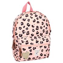 Marelično roza otroški nahrbtnik Leopard ATTITUDE, Kidzroom