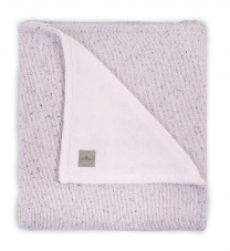 Melange roza pletena odeja 4-SEASONS 75x100 cm, Jollein