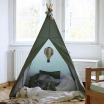 Metalno mint šotor Babo Tipi, podloga 100x100 cm