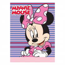 Roza - ljubičast pokrivač Disney 75x100 cm MINNIE MOUSE