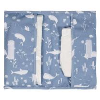 Modra torbica za pleničke Ocean Blue, Little Dutch