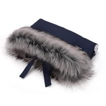 Temno modra enojna rokavica za voziček (univerzalna), Cottonmoose