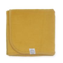 Mustard rumena tanka odeja 75x100 cm, Jollein®