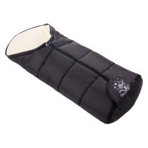 CRNA zimska vreća 108 cm - KREM antialergijski pliš