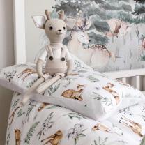 Posteljnina 150x120 cm bambi