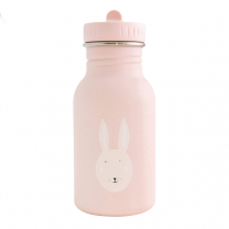 Pudrasto roza otroška steklenička MRS.RABBIT (350 ml), trixie