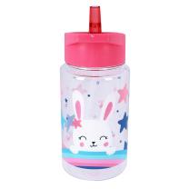 Roza otroška steklenička ZAJČEK in zvezdice (450 ml), Pret