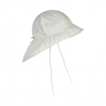 Kremno bela otroški klobuček z UV zaščito (UPF 50+) 1-2 leti, MARSHMALLOW WHITE – En Fant