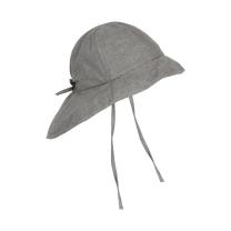 Jeans siv otroški klobuček z UV zaščito (UPF 50+) 2-4 leta, MID GREY MELANGE – En Fant
