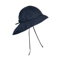 Temno moder otroški klobuček z UV zaščito (UPF 50+) 6-12 m, OUTER SPACE – En Fant