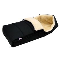 CRNA zimska vreća 90 cm - 100% ovčja vuna