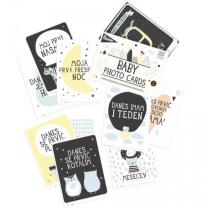 MILESTONE™ kartice za fotografiranje dojenčka SLO - Over the moon (Limited Ed.)