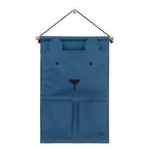 Moder stenski organizator ANIMAL CLUB Steel blue, Jollein